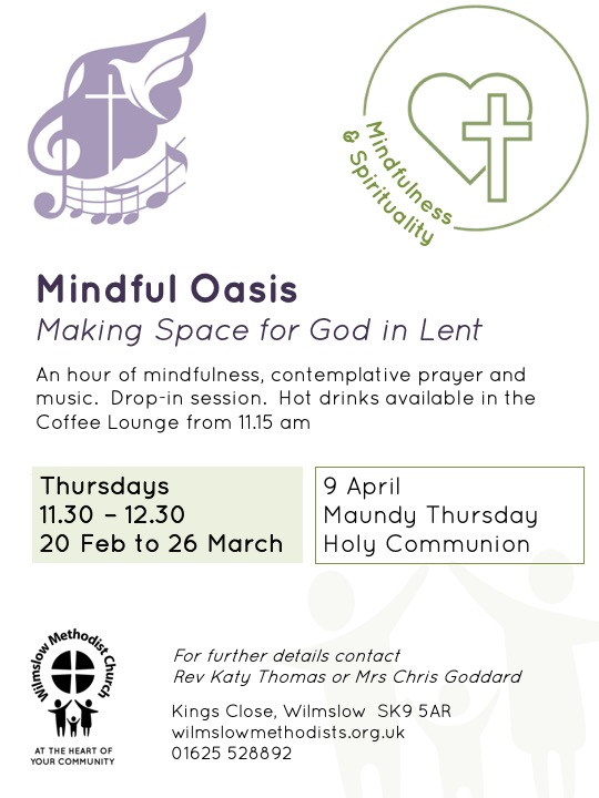 Lent Mindful Oasis