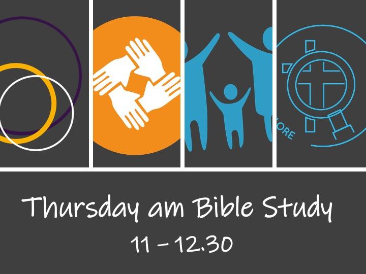 Thursday am Bible Study Group (online)